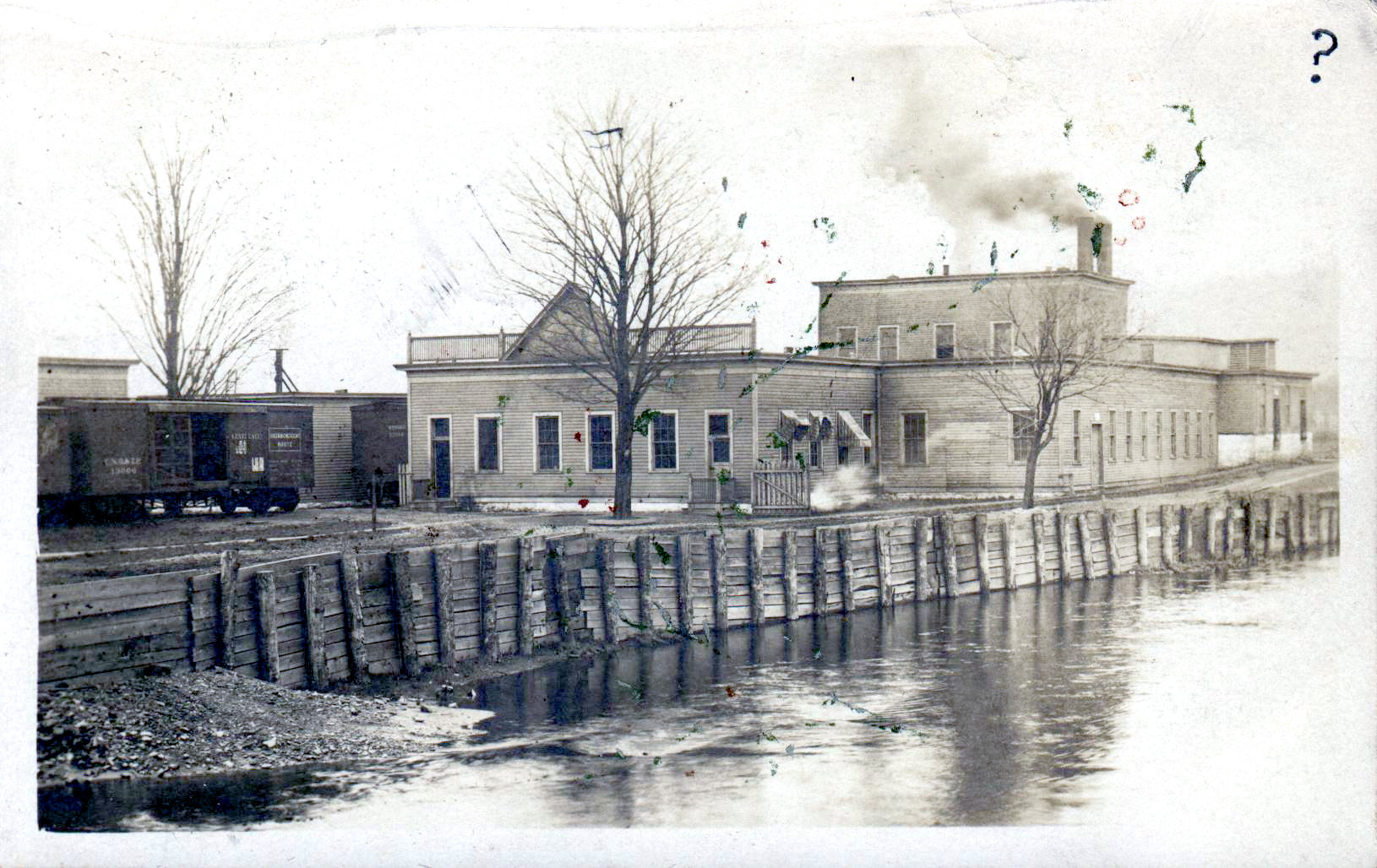 Erie Canal in Tonawanda, photo (c1890).jpg