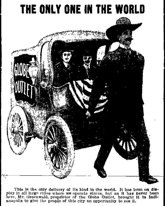 Electric Man at the Globe Outlet of Indianapolis, ad (1914).jpg