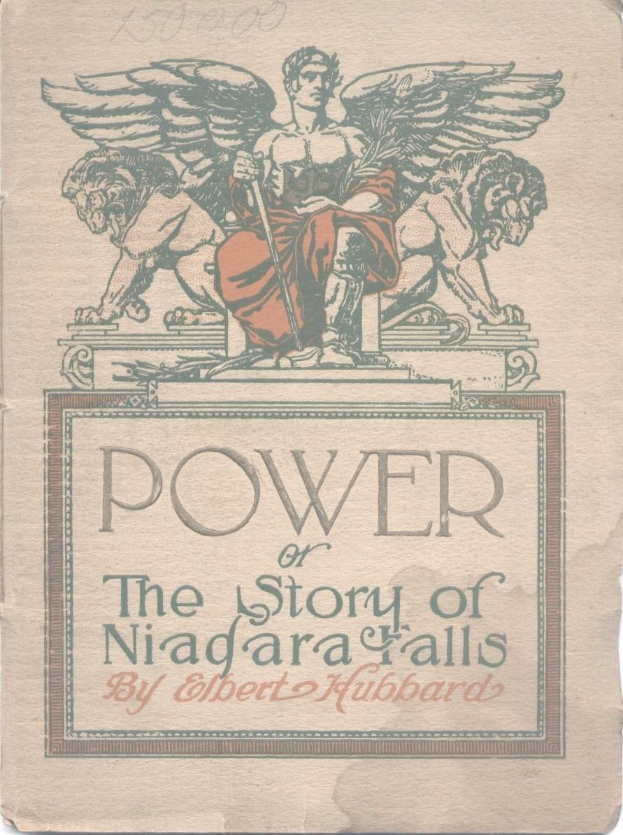 Power or The Story of Niagara Falls, booklet (Elbert Hubbard, 1914).jpg