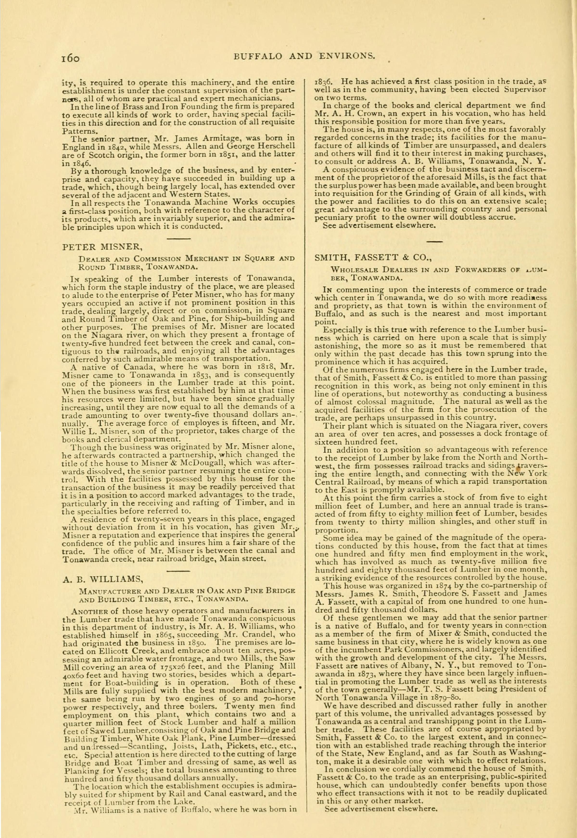 Tonawanda, book excerpt (Commerce, 1880) p160.jpg