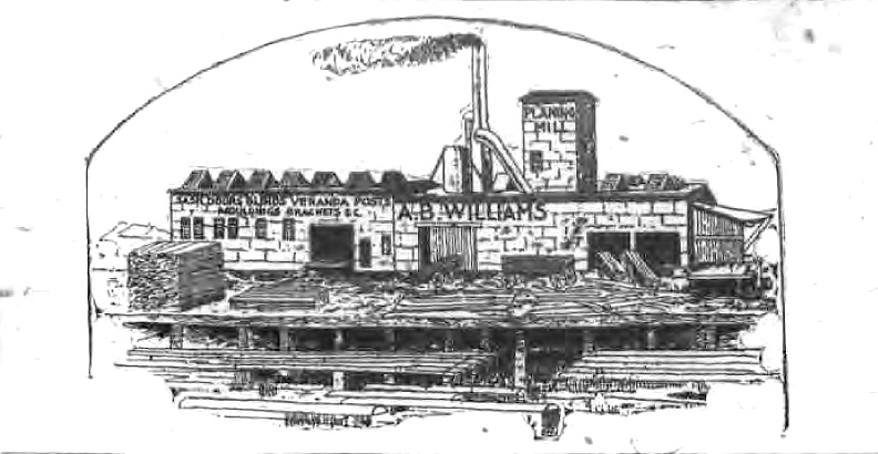 A. B. Williams Planing Mill, illustration (Tonawanda News, 1893).jpg
