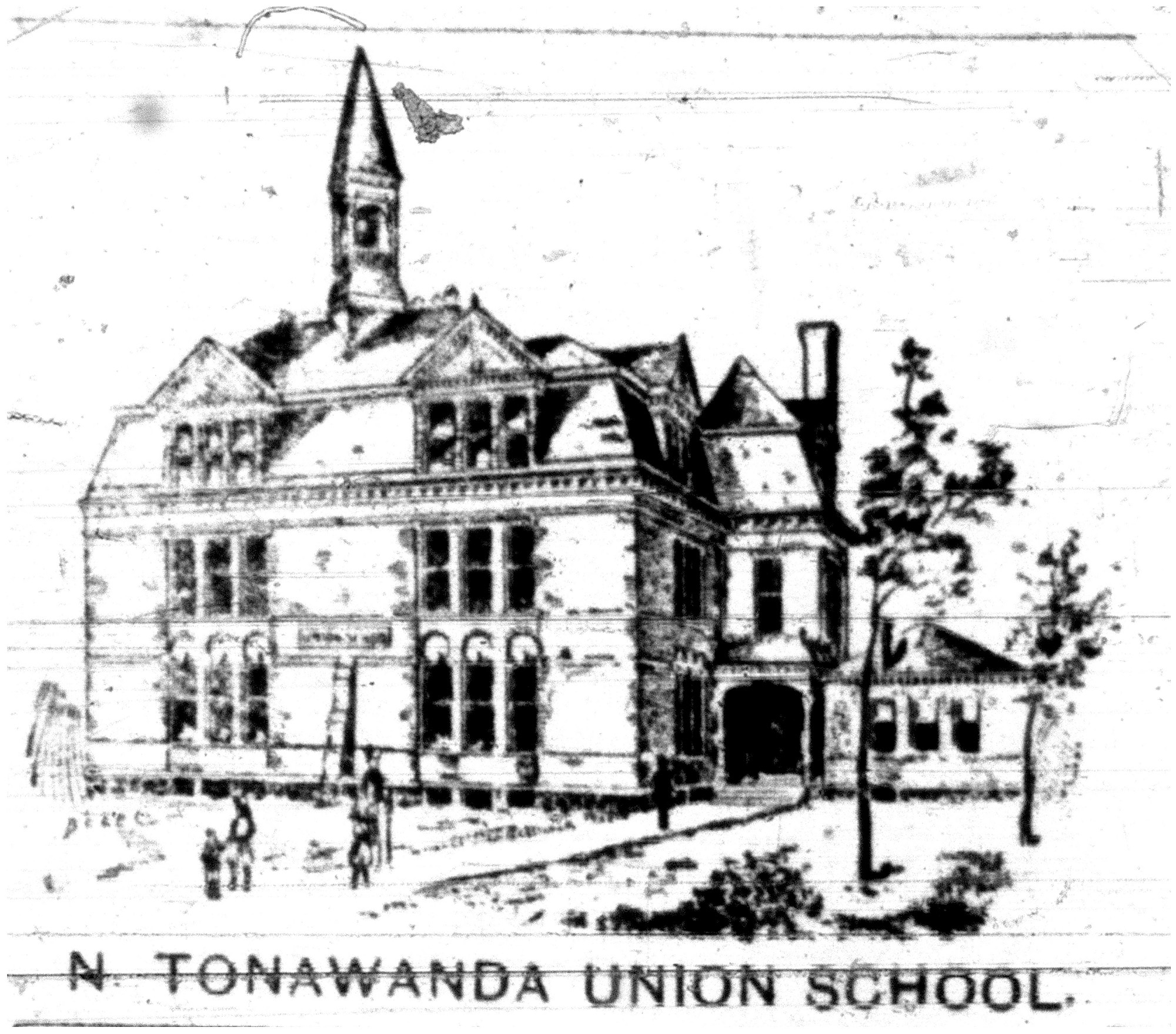 Union School, illustration (1893-08-05 Tonawanda News).jpg
