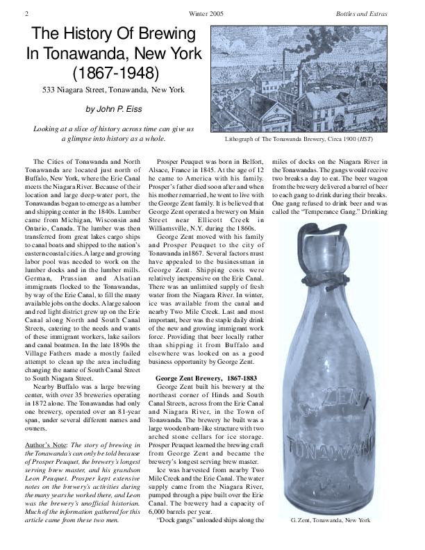 The History of Brewing In Tonawanda, New York (Eiss, 2005).pdf