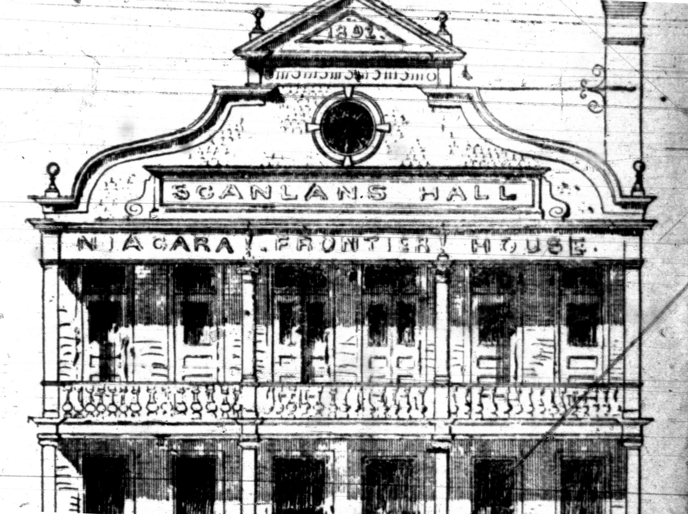 Scanlons Hall, detail top, illustration (1893-08-05 Tonawanda News).jpg