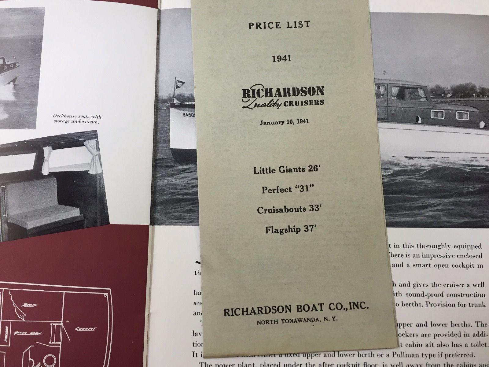Richardson Cabin Cruisers, catalog and price sheet 10 (1941).jpg