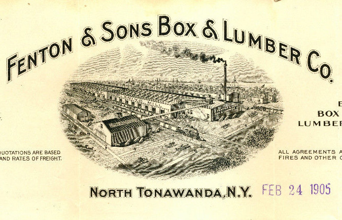 Fenton and Sons Lumber Co, illustrated letterhead, detail (1905).jpg