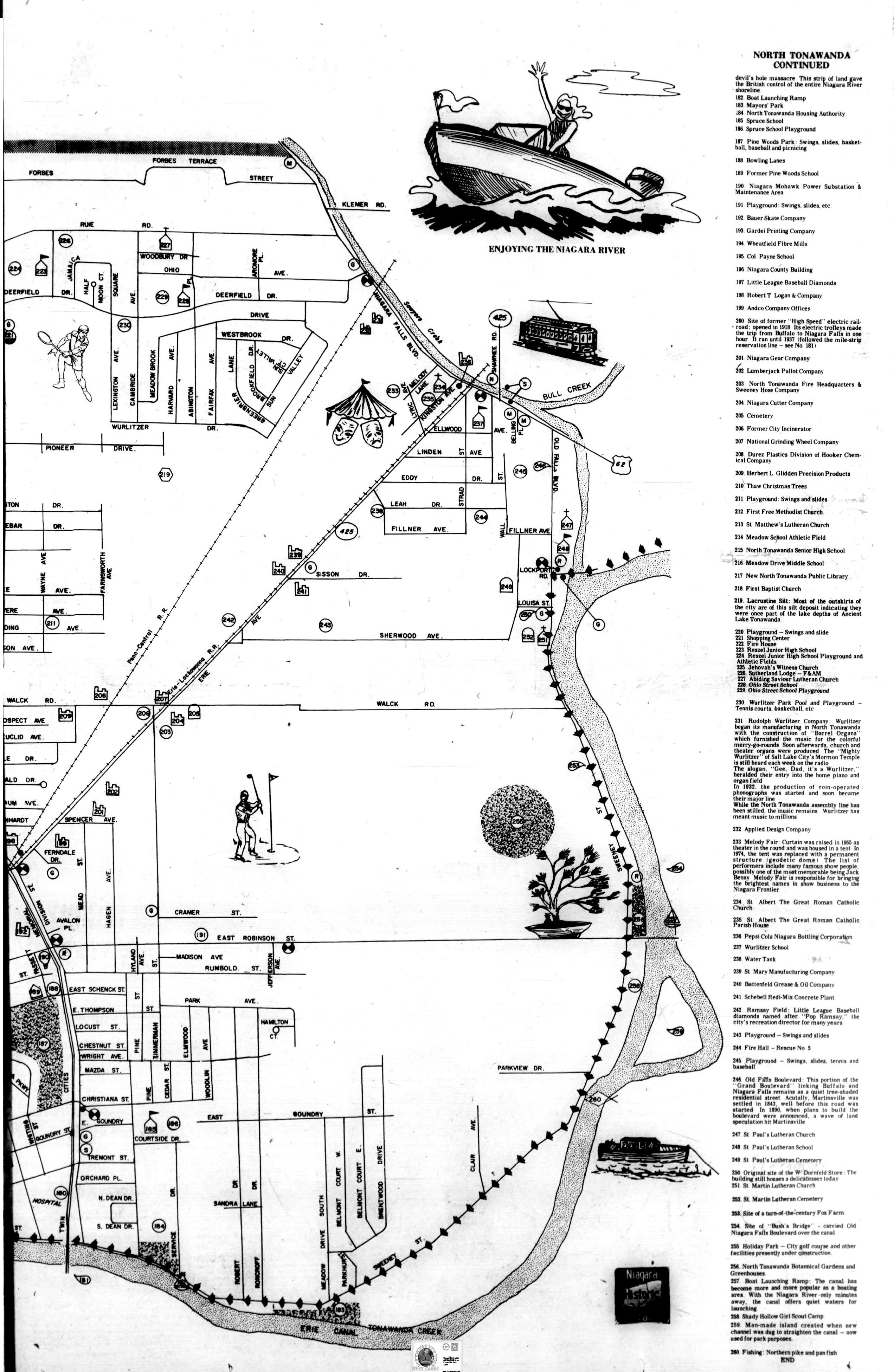 Niagara Trail Bicentennial Publication, map and histories 2 (Ton News 1975-08-23).jpg