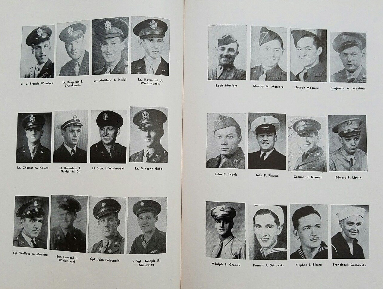 Our Lady of Czestochowa, yearbook photos 4 (1945).jpg