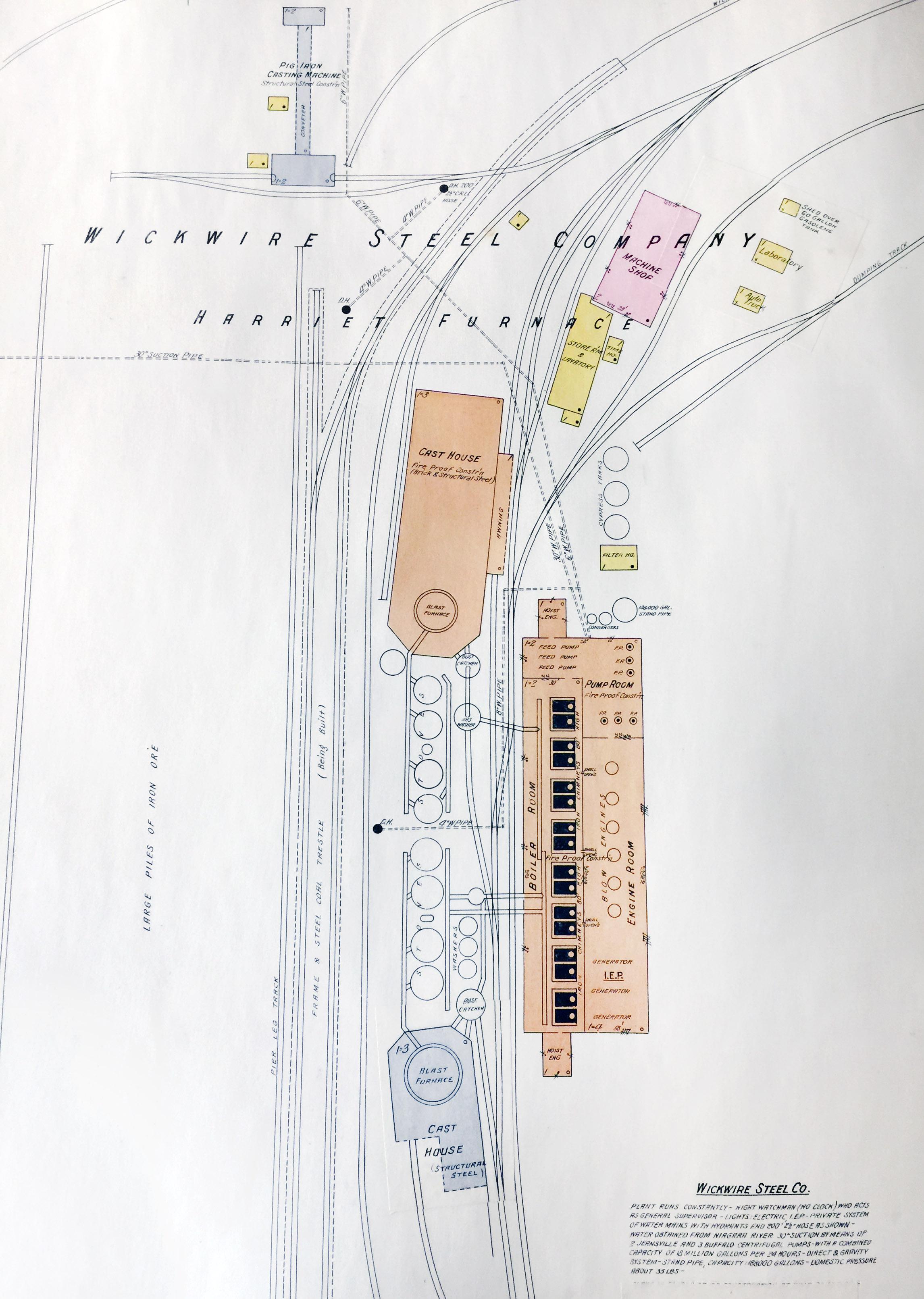 Wickwire Steel Co., Tonawanda, map detail (Sanborn Map Company, 1910, 1913).jpg