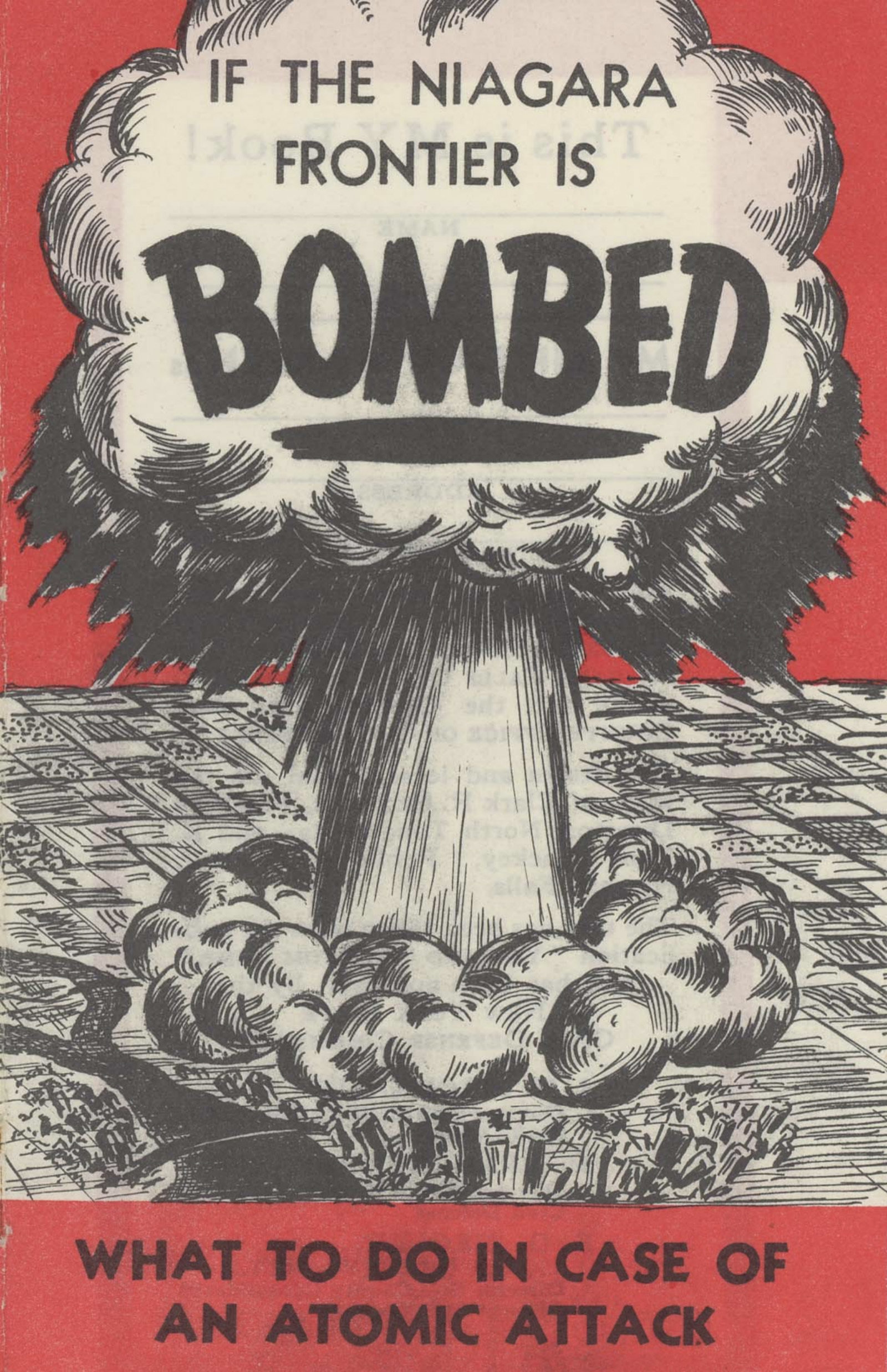 If the Niagara Frontier Is Bombed, pamphlet (c1950).jpg