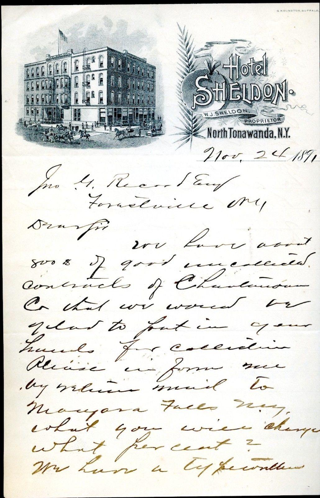 Hotel Sheldon, illustrated letterhead (1891).jpg