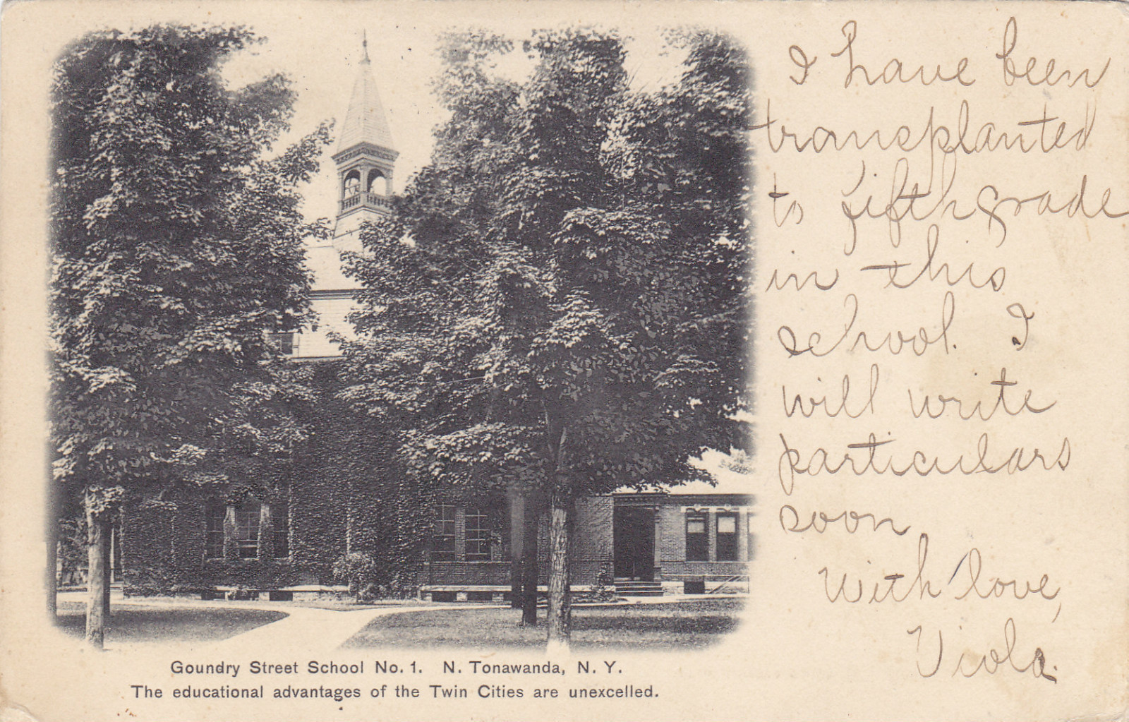 Goundry Street School No.1, photo postcard (1906).jpg