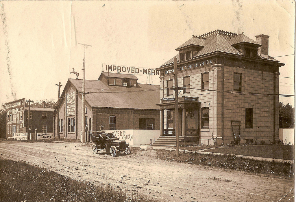Herschell-Spillman Co. Buildings, Sweeney Street, photo (c1910).jpg