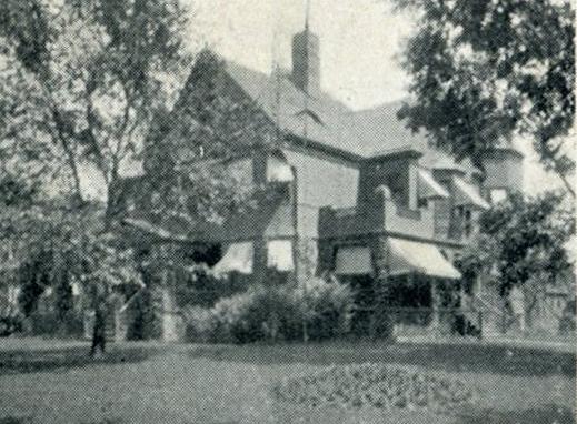 de Kleist home on Goundry, photo (HST, Tonawandas To-Day, 1907).jpg