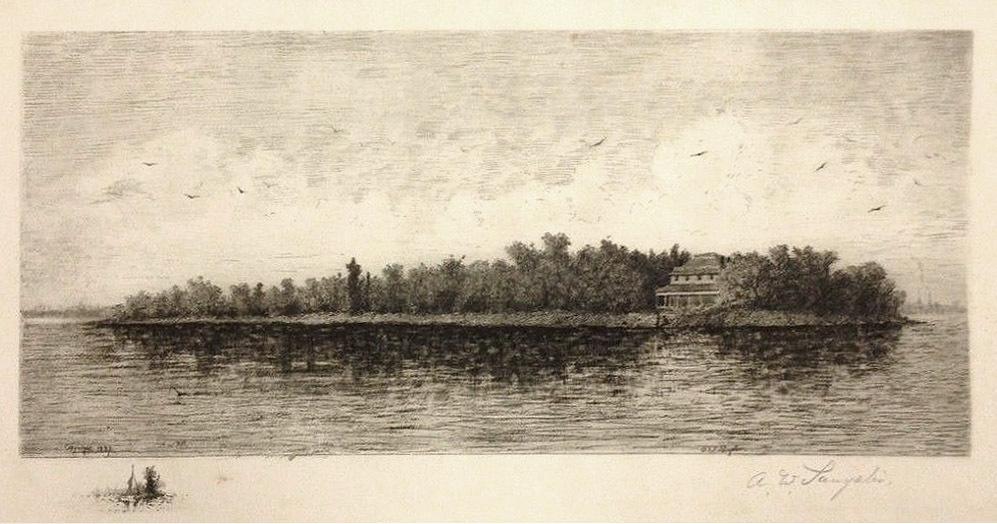 Tonawanda Island opposite Tonawanda, etching (Sangster 1886).jpg