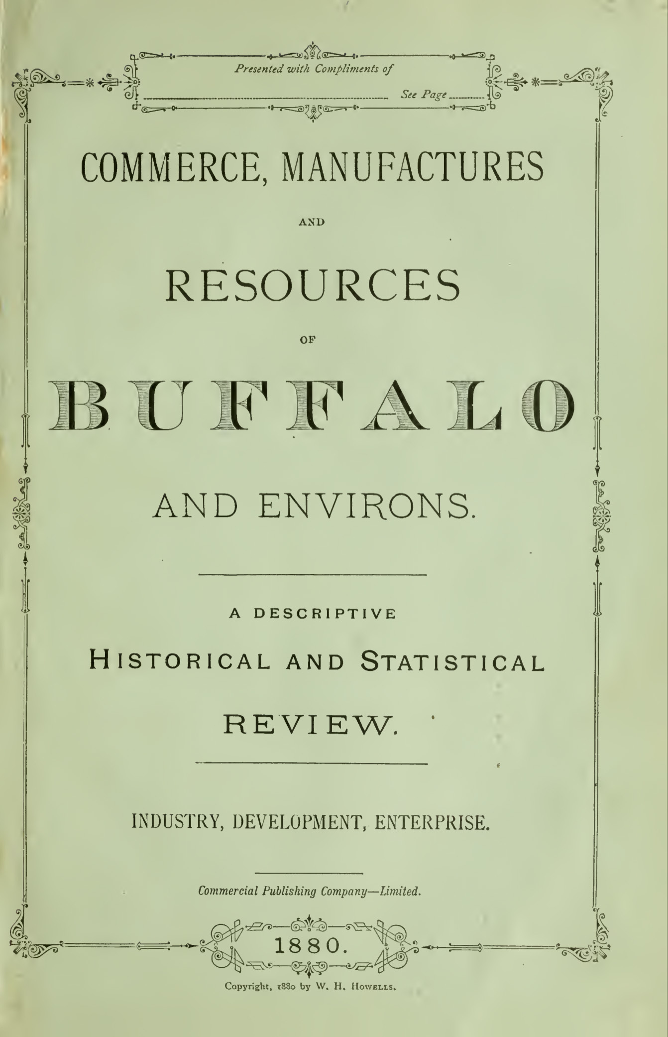 Commerce, Manufactures and Resources of Buffalo and Environs, cover (1880).jpg