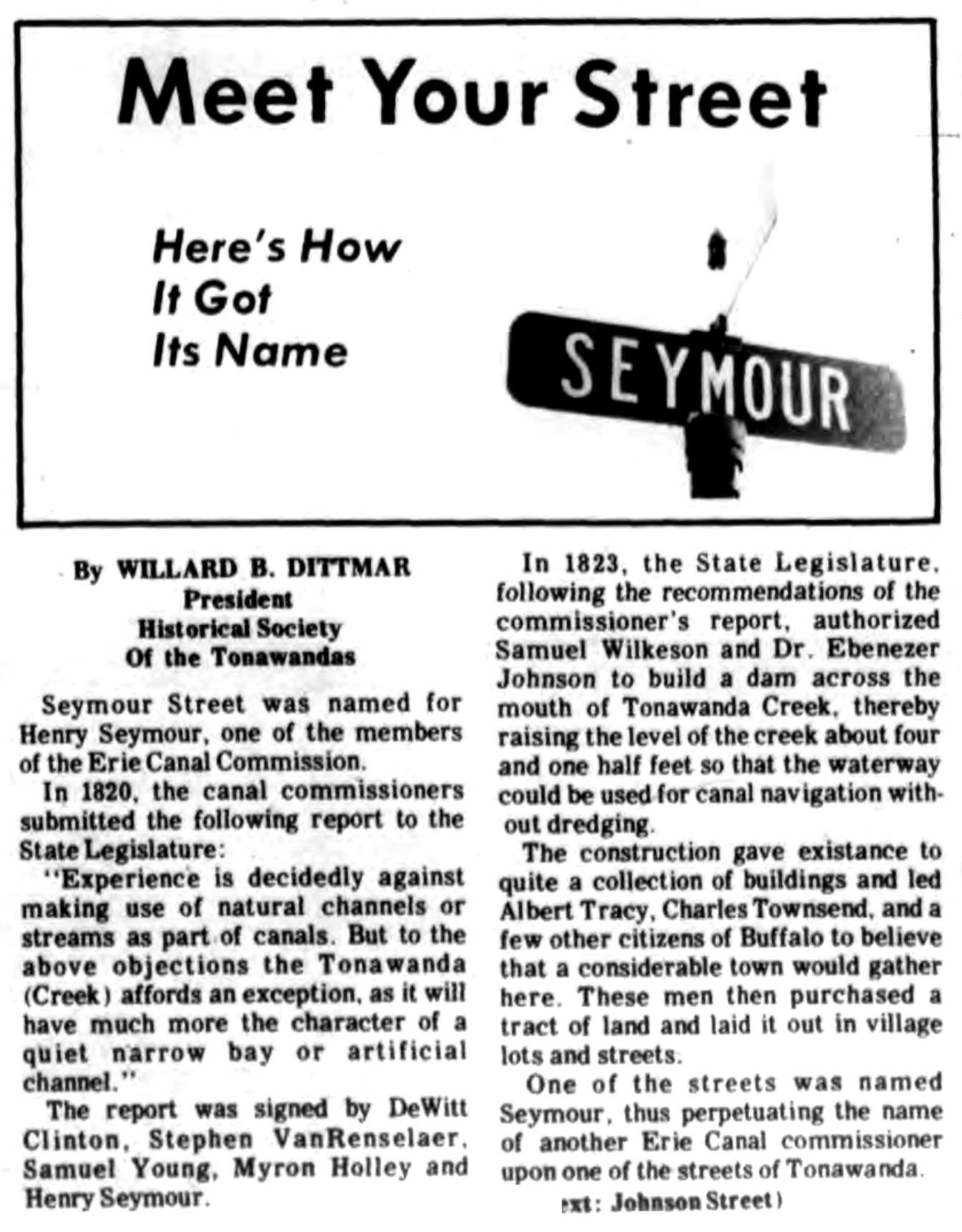 Meet Your Street - Seymour in Tonawanda (Tonawanada News, 1970-11-06).jpg