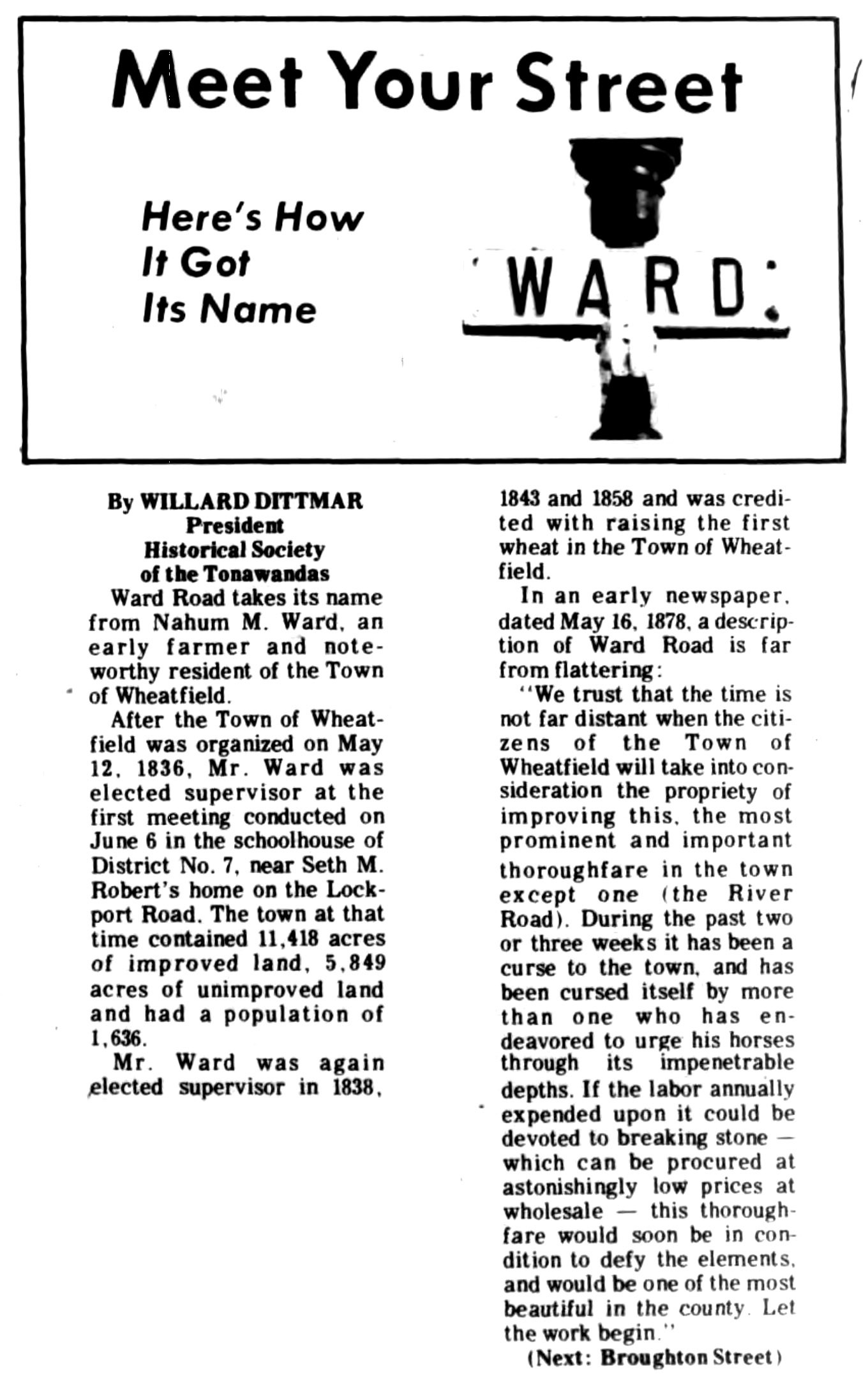 Meet Your Street - Ward (Tonawanada News, 1970-12-04).jpg
