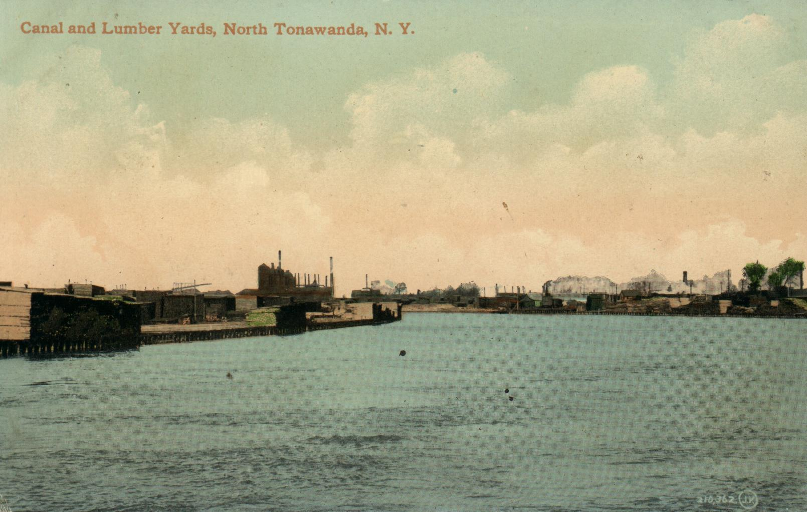 Canal and Lumber Yards, postcard.jpg