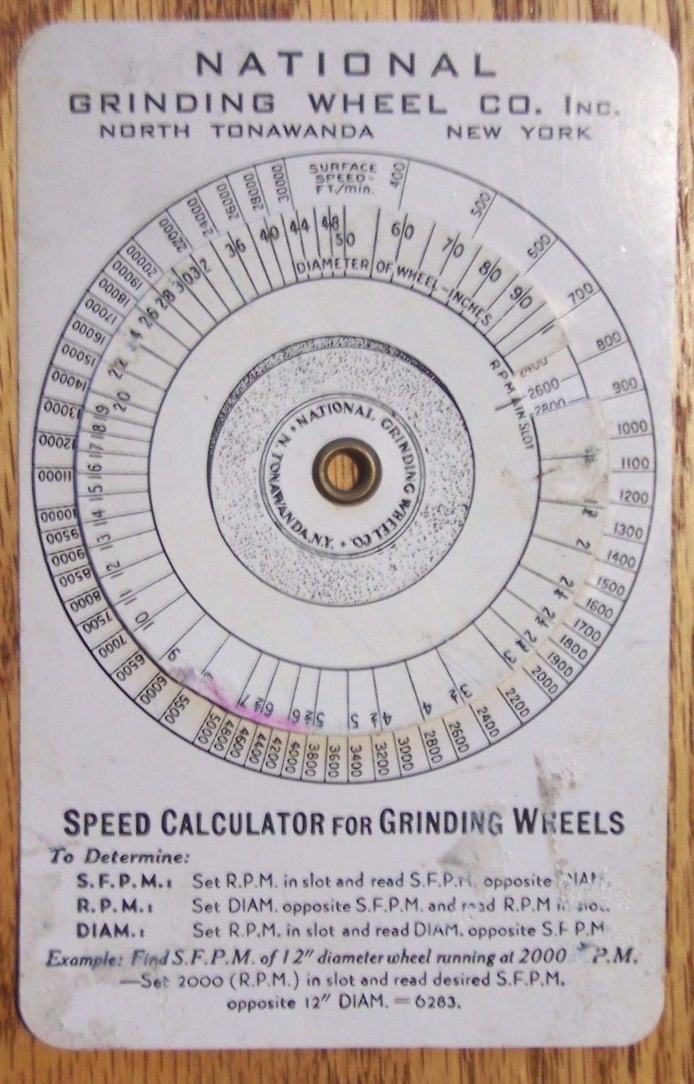 National Grinding Wheel, speed calculator (c1920).jpg