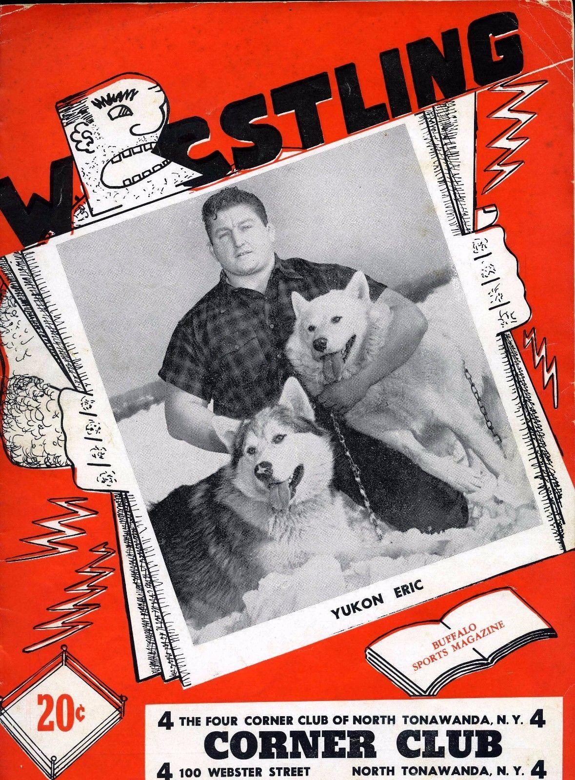 Four Corner Wrestling Club, program, cover (1950-05-05).jpg