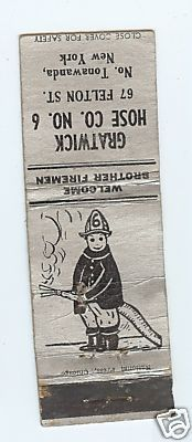 Gratwick Hose Company 6, matchbook outside.jpg