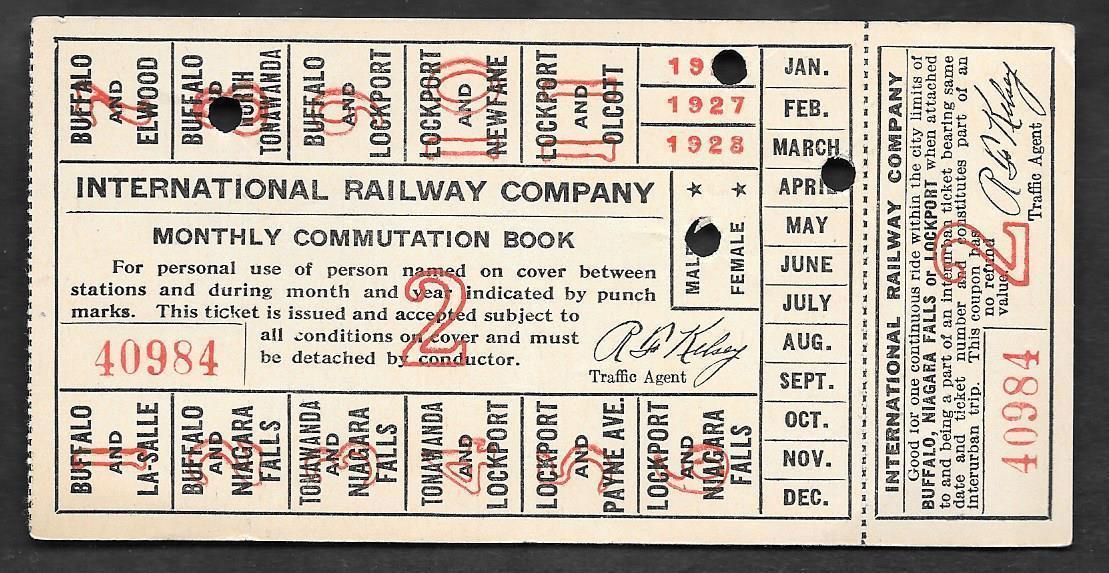 International Railway, monthly commutation book (1926).jpg