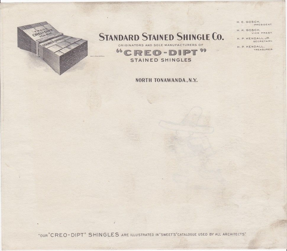 Creo-Dipt Stained Shingles, illustrated letterhead.jpg