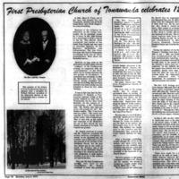 First Presbyterian Church of Tonawanda Celebrates 120 Years, Locke, article (Tonawanda News, 1972-06-03).png