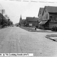 Oliver Street at 7th Ave looking south, photo (1947).jpg