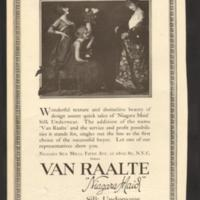 Van Raalte, photo ad (October 6, 1917, Dry Goods Economist Magazine).jpg