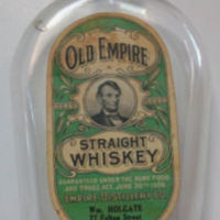 Old Empire Straight Whiskey, Wm Holgate, 27 Felton St., bottle (1906).jpg