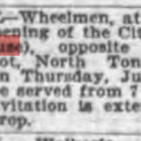 Backer House to re-open as City Hotel, ad (Buffalo News, 1897-06-17).jpg