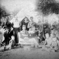 Boy Scout Troop 5 in Hannah's Woods, photo (c1920).jpg