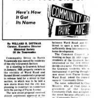 Meet Your Street - Community Drive (Tonawanada News, 1971-03-12).jpg