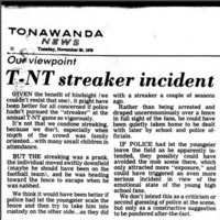 Our viewpoint, T-NT streaker incident, opinion piece (Tonawanda News, 1979-11-20).jpg