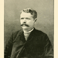 George C Herschell, photo portrait (Landmarks of Niagara County, 1897 PD).jpg