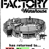 Recreational Factory Warehouse, logotype (1986).jpg