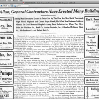 Morris and Allan Firm Built Artizan, De Graff, High School, article (Tonawanda News, 1928-11-11).jpg