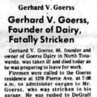 Gerhard V Goerss Stricken Perparing for Work, article (Tonawanda Evening News, 1971-01-19).jpg
