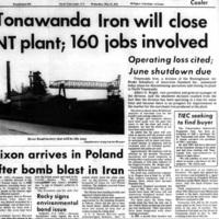 Tonawanda Iron will close NT plant, 160 jobs involved, article (Tonawanda News, 1972-05-31).jpg