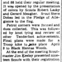 Black Hanna Woods Boy Scout site, article (Tonawanda News, 1940).png