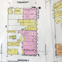 Webster Street south of Tremont, map detail (Sanborn Map Company, 1910, 1913).jpg