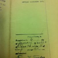 Artizan incorporation filed (Niagara County Clerk, 1922-01-06).jpg
