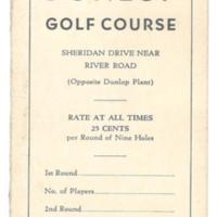 Dunlop Golf Course, scorecard (c1930).jpg