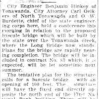 Engineers confer on new bridge over creek, article (Tonawanda News, 1916-03-17).jpg