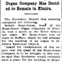 Rochester still chases a rainbow, article (Elmira Star-Gazette, 1909-03-10).jpg