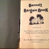 Bennett Bargain Book, title page (1926).jpg