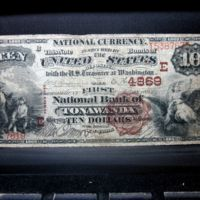 First National Bank of Tonawanda, 10 dollar note (1869).jpg