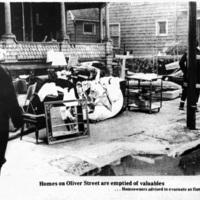 Homes on Oliver Street emptied of valuables, Auto-Wheel fire, photo (Tonawanda News, 1972-05-30).jpg